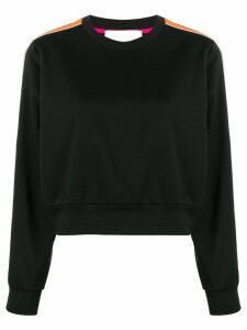 No Ka' Oi side stripe sweatshirt - Black