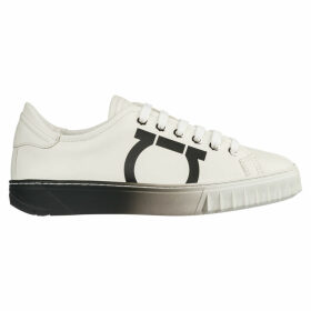 Salvatore Ferragamo Shoes Leather Trainers Sneakers Gancini