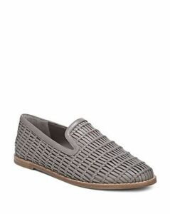 Vince Women's Jonah Woven Leather Loafers