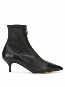 Tabitha Simmons zip-up boots - Black