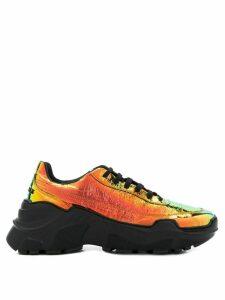Joshua Sanders Zenithh platform sneakers - ORANGE