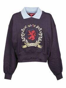 Tommy Hilfiger Contrasting Collar Sweatshirt