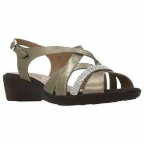 Piesanto  180558  women's Sandals in Gold