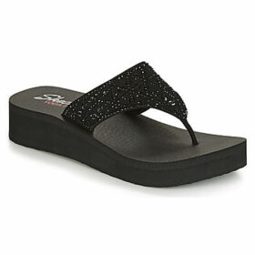 Skechers  VINYASA  women's Flip flops / Sandals (Shoes) in Black