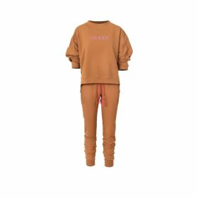 LOU. EARL - Aix In Licorice Smooth Leather Flat Mules