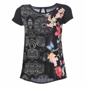 Desigual  PANAMA  women's T shirt in Black