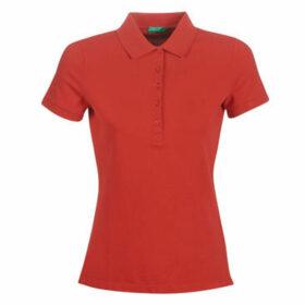 Benetton  MONNIKHA  women's Polo shirt in Red