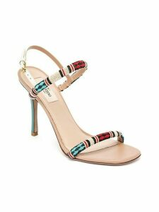 Tribe Beaded Leather Sandals