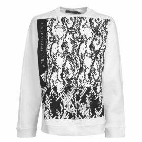 adidas by Stella McCartney Logo Crew Neck Sweatshirt