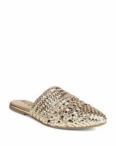 Sam Edelman Women's Natalya Woven Leather Mules