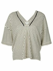 Forte Forte striped shirt - NEUTRALS