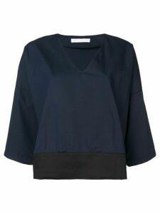 Société Anonyme flare styled blouse - Blue