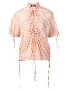Dsquared2 ruched front blouse - Pink