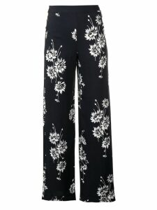McQ Alexander McQueen floral printed trousers - Black