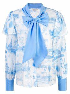 Alice+Olivia Talulah blouse - Blue