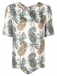 Etro paisley print blouse - White