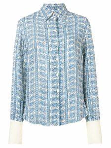 Philosophy Di Lorenzo Serafini paisley print shirt - Blue