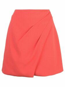 Alice+Olivia Shaylee asymmetric skirt - Red