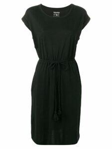 Woolrich tassel belt dress - Black