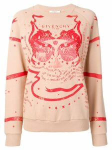 Givenchy printed crewneck sweatshirt - Neutrals