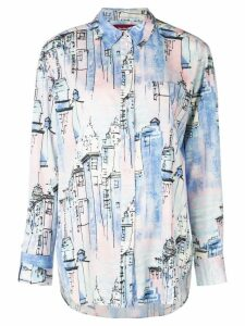 Sies Marjan City print shirt - Blue
