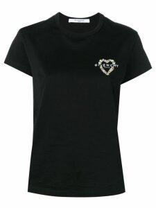 Givenchy heart logo T-shirt - Black