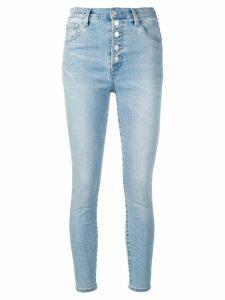 J Brand cropped skinny jeans - Blue