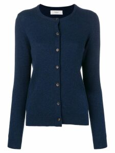 Pringle of Scotland round-neck cashmere cardigan - Blue