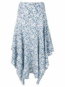 Stella McCartney flower print skirt - Blue