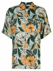 R13 floral print shirt - Green