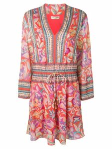 Etro floral dress - Red