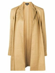Theory open front coat - Neutrals