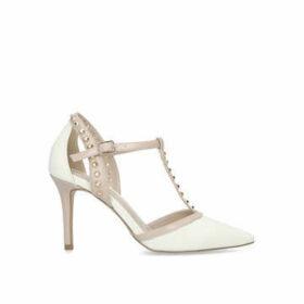 Carvela Wide Fit Kankan - Wide Fit Studded Stiletto Heel Court Shoes