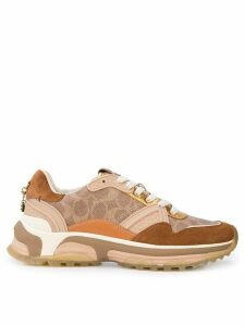 Coach signature runner sneakers - Brown