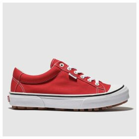 Vans Red Style 29 Trainers