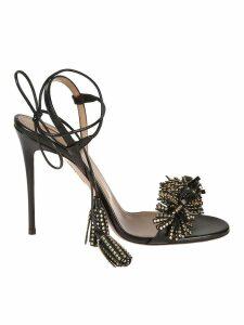 Aquazzura Wild Crystal Sandals
