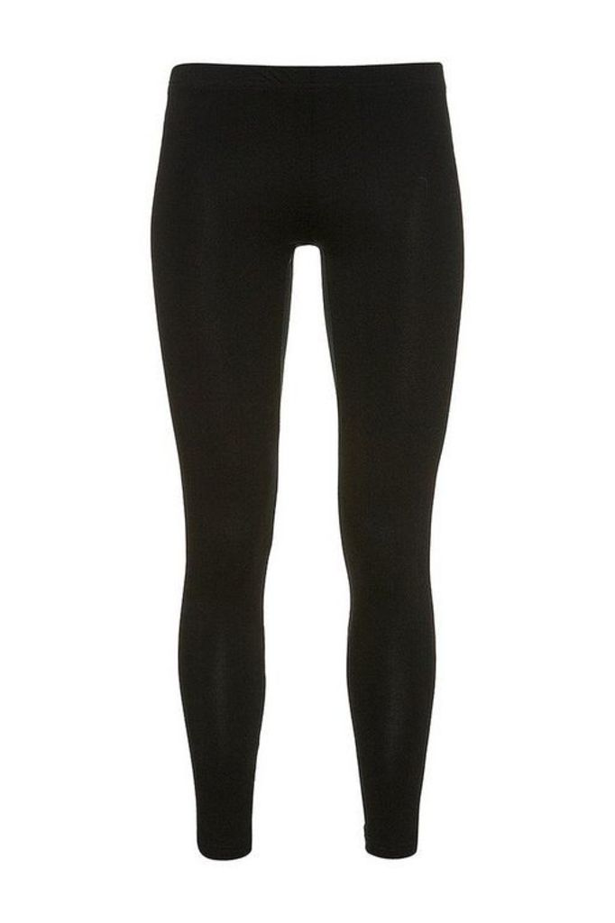 Womens Tall Ankle Leggings - Black, Black