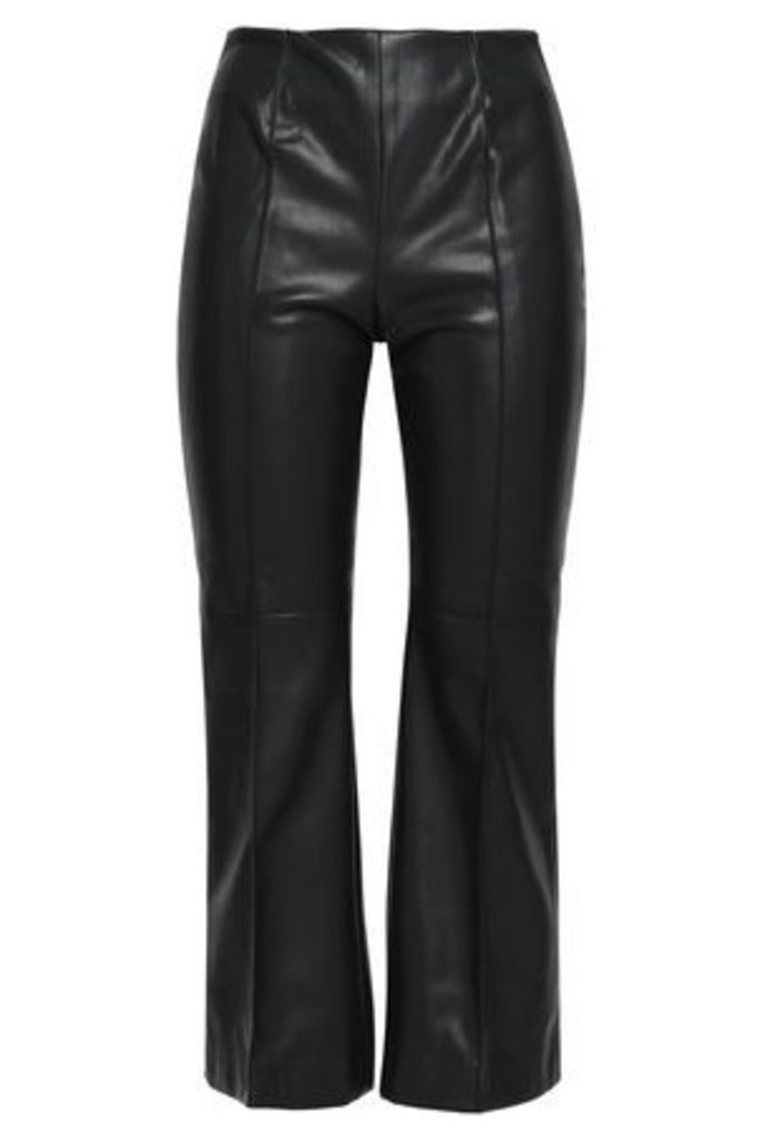 Goen.j Woman Bootcut Pants Black Size L
