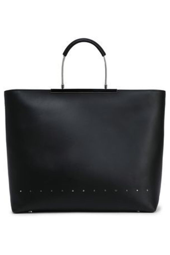 Alexander Wang Woman Leather Tote Black Size -
