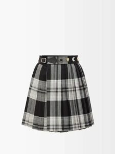Msgm - Scoop-neck Stretch-knit Top - Womens - Red