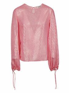 The Attico Balloon-sleeved Blouse