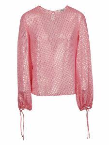 The Attico Balloon-sleeved Blouse