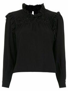 Andrea Bogosian embellished blouse - Black
