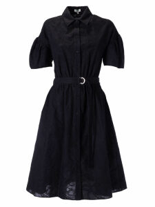 Kenzo Embroidered Belted Dress