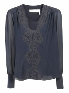 Chloé Lace Trim Blouse