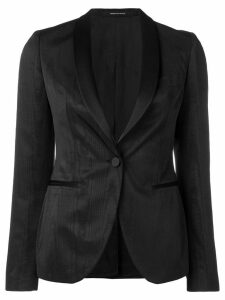 Tagliatore single-breasted blazer - Black