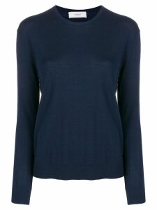 Pringle Of Scotland round-neck knitted jumper - Blue