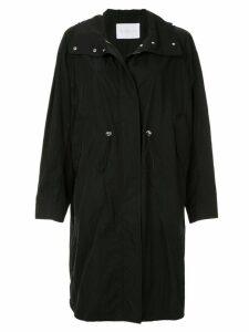 Blueflag + Kiminori Morishita hooded parka coat - Black