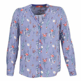 S.Oliver  04-899-61-5060-90G12  women's Blouse in Blue