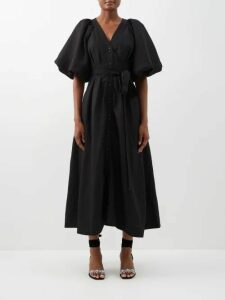 Vetements - Snake-print Cotton Sweatshirt - Womens - Yellow
